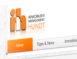 Immobilien-Management Hundt – Website