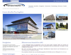 Münstermann Immobilien oHG – Website 2012