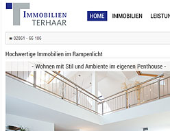Immobilien Terhaar – Website